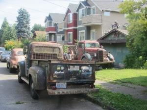 """Camiones """"vintage""""."""