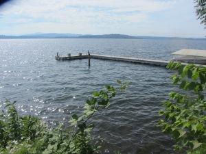 La orilla del lago Washington en Seattle.