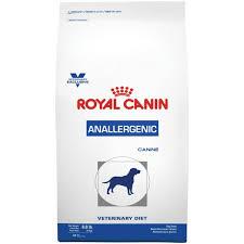 Dieta anallergenic para el test de alergia alimentaria en perro.